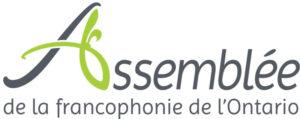 Logo Assemblée de la francophonie de l'Ontario